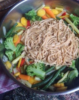 thai peanut pasta