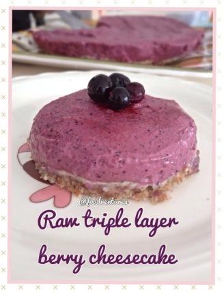 raw triple berry cheesecake 1