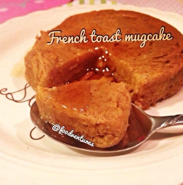 french toast mug cake