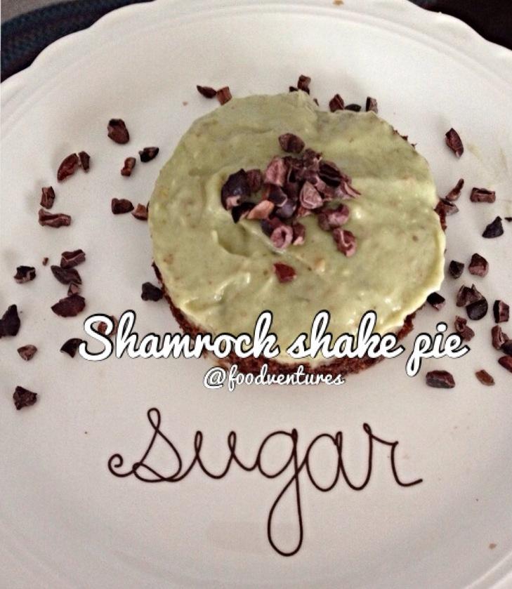 shamrock shake pie