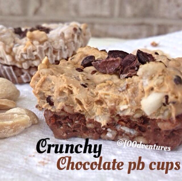 crunchy chocolate pb cups