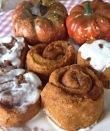 pumpkin cinnamon rolls 2