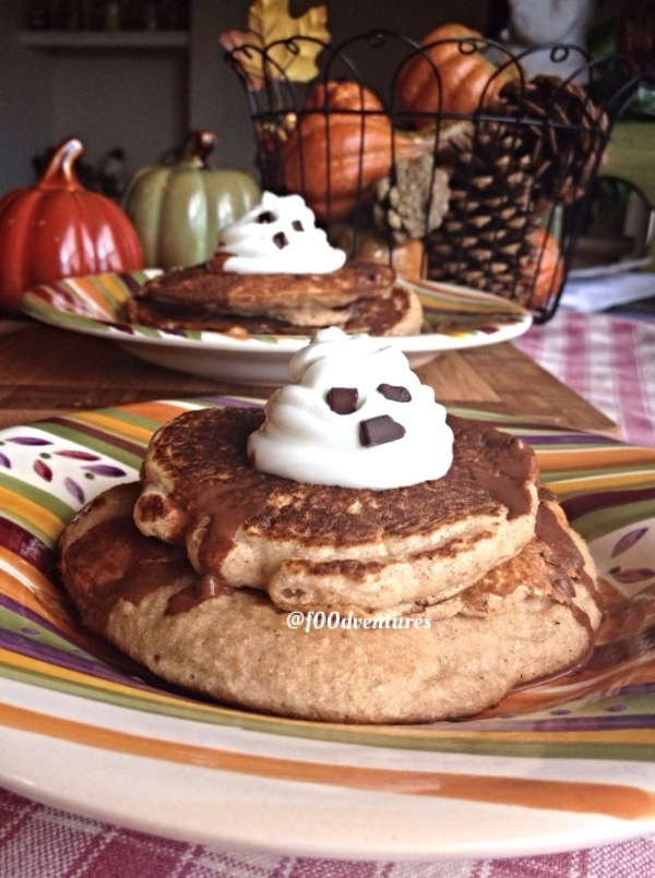 ghost pancakes