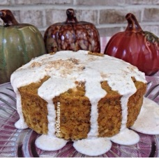 pumpkin spice coffee oat cake