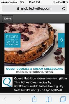 quest feature of the week twitter