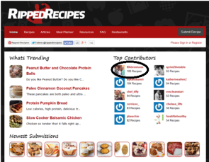 ripped recipes top contributor