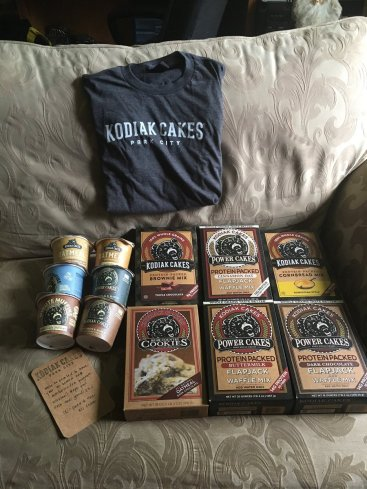 kodiak cakes brand ambassador welcome package
