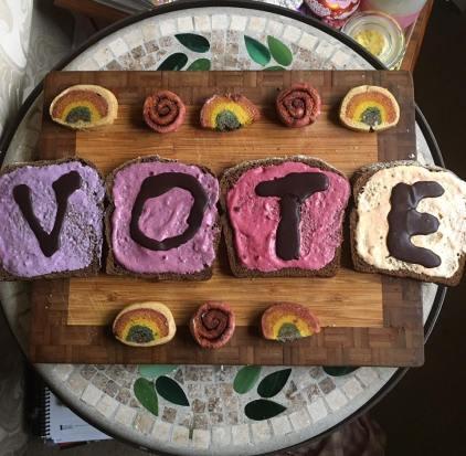 vote toast